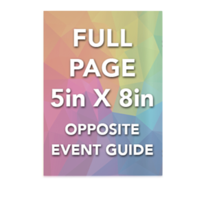 FULL PAGE - OPPOSITE EVENTS